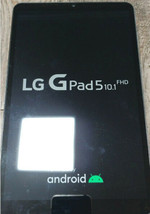 LG G Pad 5 10.1 Tablet PC 32GB Android 9.0 (WiFi, LTE) LM-T605 LM-T600 -Black image 1