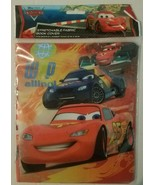 Disney Pixar Cars Stretchable Fabric Book Cover Fits Books larger than 1... - $2.69