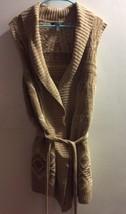 Ralph Lauren LRL Tan Rare Size 2X Southwest Native American Sweater Vest... - $96.74