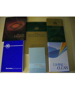Narcotics Anonymous 6 Book Collection: Basic Text, Just For Today, etc B... - $92.95