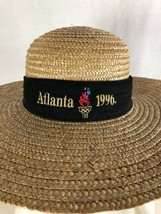 VINTAGE STRAW HAT 1996 ATLANTA OLYMPIC GAMES - $23.15