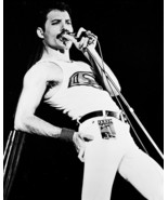 Queen B&W 16x20 Canvas Giclee Freddie Mercury Vest And Tight Pants Concert - $69.99