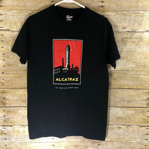 Alcatraz At Night Golden Gate National Parks Hanes Tee Adult Small T-Shirt - $16.69