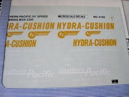 Microscale Decals #MC-4160 Southern Pacific 50' Speed Lettering Boxcars 1995 HO image 2