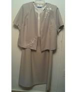Vicki Wayne SC~ Women's Plus 18W (Fits 2X) Sleeveless Dress & Jacket 2pc... - $27.70