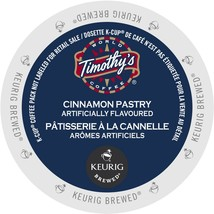 Timothy's Cinnamon Pastry Coffee, 96 count Keurig K cups, FREE SHIPPING  - $66.99