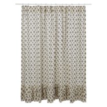 Elysee Ruffled Shower Curtain