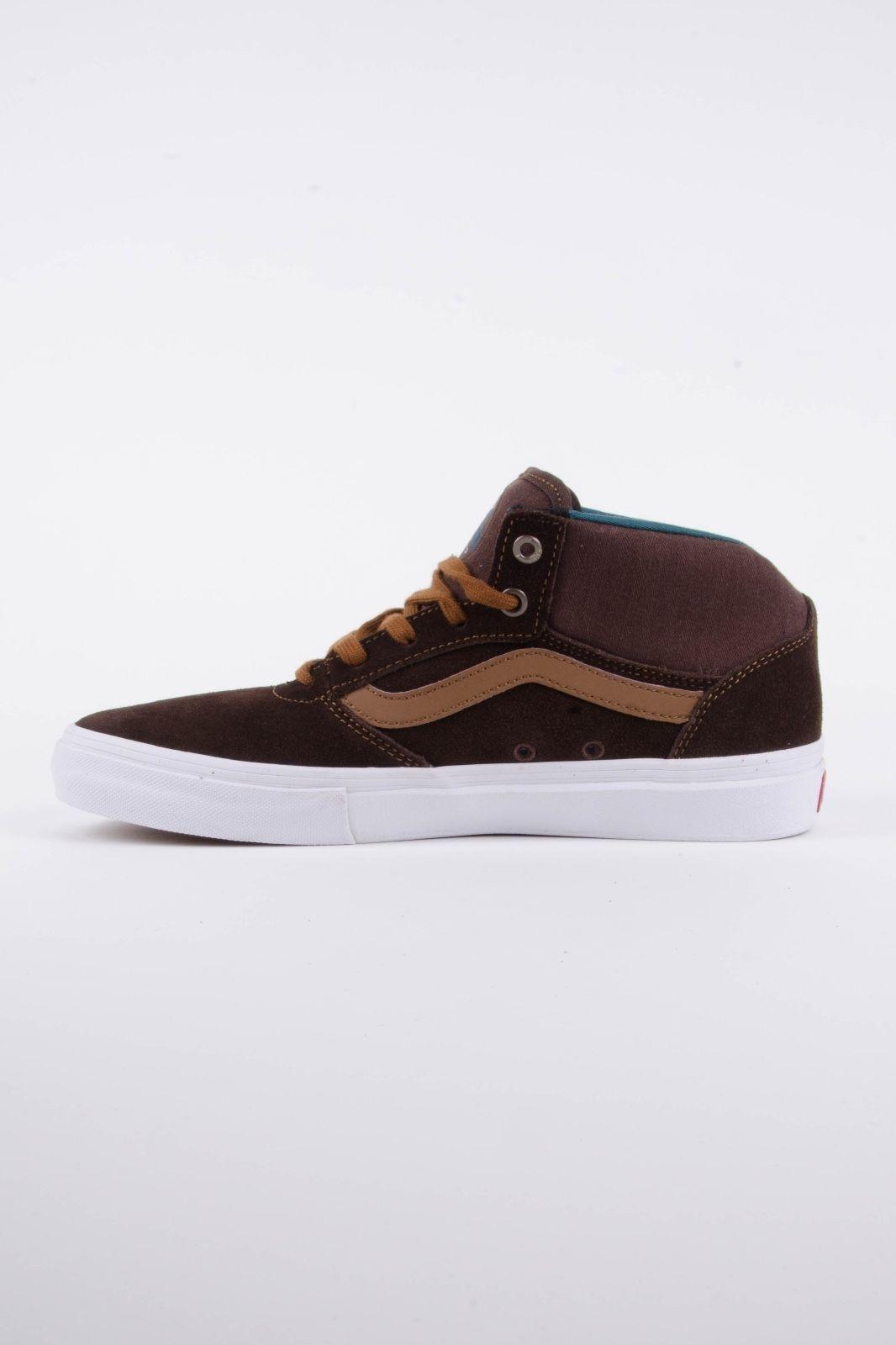 15f21f04812f Vans Gilbert Crockett Pro MID DEMITASSE Men s Classic Skate Shoes Size 7 NEW