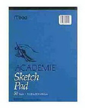 Academie 50-Page 12 x 9-Inch Sketch Pad - Pack of 6 - $33.65