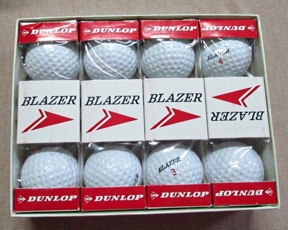 Vintage New in Box Dunlop Blazer Golf Balls One Dozen 1960s