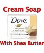 DOVE MOISTURIZING BEAUTY CREAM SOAP BAR Shea Butter - $5.44