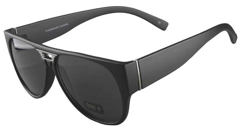 NEW Quay Eyeware Australia 1485 Matte Black Smoke Gray Lens 100% UV Sunglasses