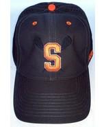 Syracuse University Orangemen Men's Gray Orange Lacrosse Stretch Fit Hat... - $26.27