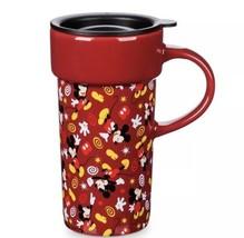 Disney Riporre Topolino Rosso Icon Tazza da Viaggio in Ceramica 355ml - $24.62