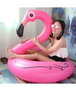 Inflatable Pool Flamingo Unicorn Pool Swim Toy Float swimming circle bea... - $14.99+