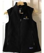 Women's (S) Backroads Best Club Patagonia Synchilla Fleece Vest Black - $26.17