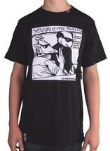 LRG Lifted Research Group Men's Black Youth is The Truth Slim Fit T-Shirt NWT