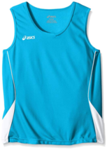 ASICS Jr. Junior Girl's Baseline Volleyball Jersey Sleeveless Tank Top Shirt NEW