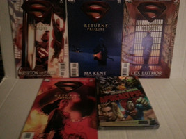 SUPERMAN RETURNS PREQUEL SET 1 - 4 - FREE SHIPPING - $14.03