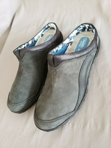 Timberland Women's Black/Gray Suede Anti Fatigue Shoes Clogs Mules Size 7 - $29.69