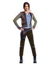 Star Wars Rogue 1 Jyn Erso Deluxe Women's Costume Large - $580,17 MXN