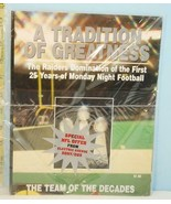 A Tradition of Greatness Oakland Raiders Domination Monday Night Footbal... - $19.75