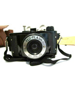 Federal Fed-Flash Bakelite Mid Century 1947 Camera Not Test Leather Case... - $15.83