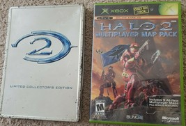 Halo 2: Limited Collector's Edition (Microsoft Xbox, 2004) With Halo Multiplayer - $14.50