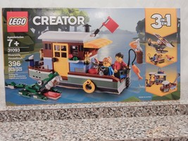 Lego Creator Riverside Houseboat  #31093 , New Sealed Box - $34.65