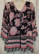 Womens JM Collection Lined Blouse Top Shirt Size Medium - $10.39
