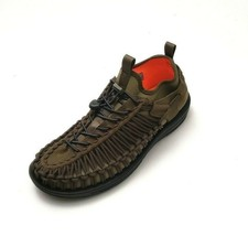 Keen Men's Uneek HT Corded Sandals Dark Olive/Gothic Olive/Black Size 9.5 - $80.74