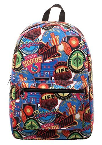 Ready Player One Movie All Over Print Sublimated Backpack