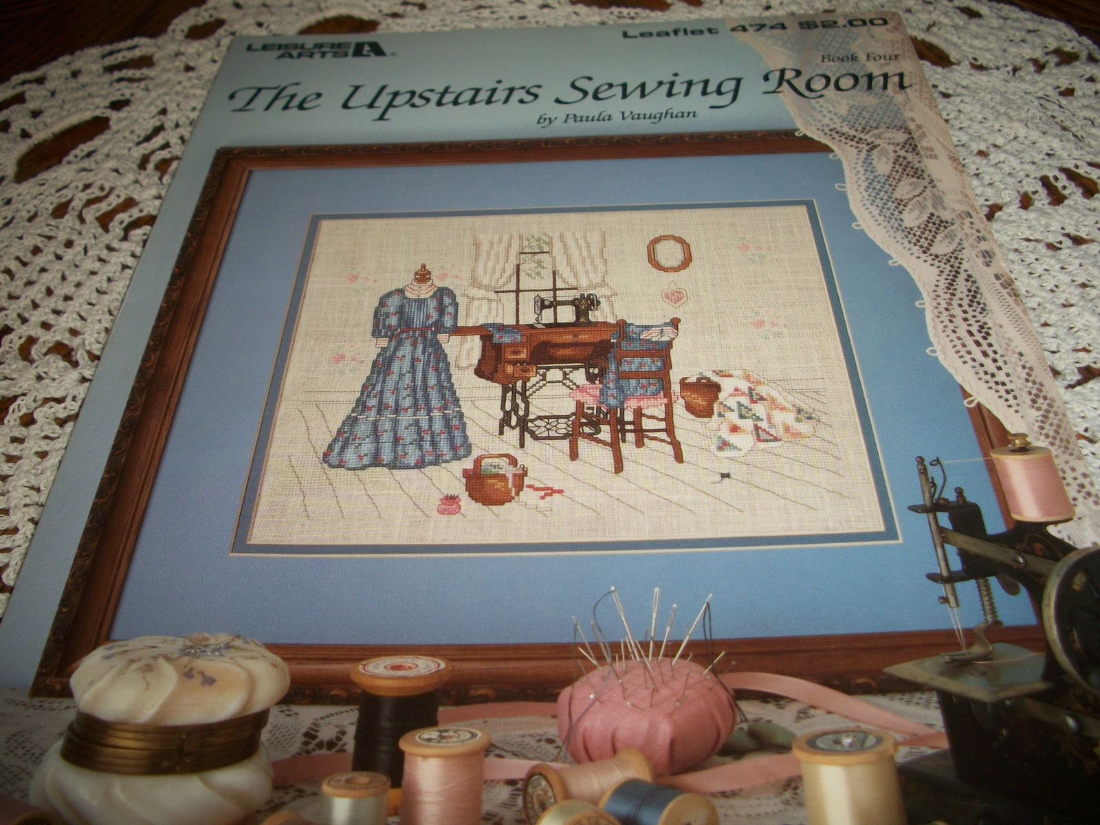 Primary image for The Upstairs Sewing Room Book Four Leaflet 474