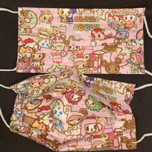 10 pieces cute pink Kawaii tokidoki disposable face mask - $11.00