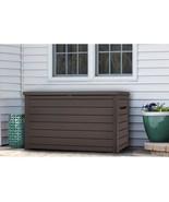 XXL 230 Gallon Plastic Deck Storage Container Box Outdoor Patio Garden F... - $415.99