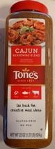 Tone's Cajun Seasoning  Jumbo 22 oz. shaker Gluten Free Spice - $15.10