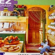 Milton Bradley EZ Grasp In The Kitchen 300 Pieces Puzzle Complete - $8.41