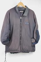 VTG ABERCROMBIE & FITCH Faded Navy Blue Fleece Lined Coat Full Zip Jacke... - $19.80