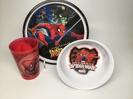 Spiderman Plate, & Bowl & Cup Set - $12.95