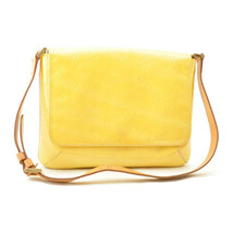 LOUIS VUITTON Vernis Thompson Street Shoulder Bag LimeYellow M91071 Auth... - $160.00
