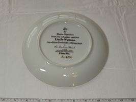 Jo by Elaine Gignilliat Little Women Danbury Mint Collector Plate ~ image 3