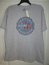 Sonoma Heritage 76 Short Sleeve Crewneck Men's T-Shirt Grey Heather XXL ... - $10.49