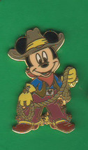 Cowboy Mickey Mouse Authentic  Disneyland Western Pin - $24.99