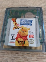 Nintendo Game Boy Color Disney Winnie The Pooh Adventures In The 100 Acres Woods image 1
