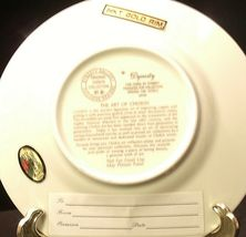 Golden 25th Anniversary Plate (Pair) AA20-2083 Vintage image 6