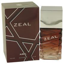 Ajmal Zeal by Ajmal 3.4 oz 100 ml EDP Spray for Men New in Box - $31.30