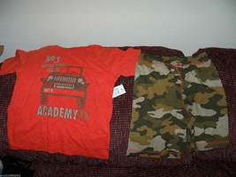Faded Glory Special Unit Academy-11 2pc Short outfit size 4T Boys LAST ONE - $19.99