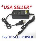 12VDC 2 AMP CCTV Security Camera Power Supply + 4 Camera Splitter - $15.99
