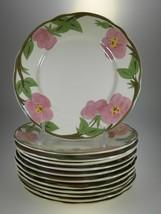Franciscan Desert Rose Salad Plates Set of 12 B... - $30.81