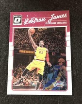 Lebron James 2016/17 Panini Optic Kobe - $220.31